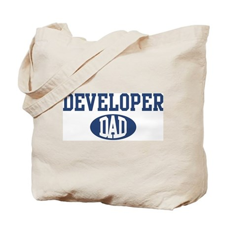 Developer dad Tote Bag