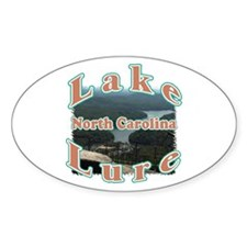 Lake Lure Oval Decal