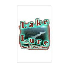 Lake Lure Rectangle Decal