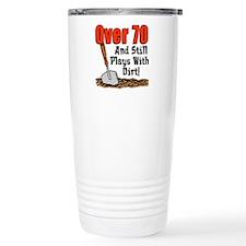 Over 70 Plays With Dirt Travel Mug