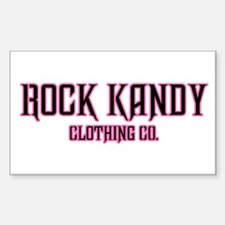 Rock Kandy Clothing Co Pink Iron Cross Decal