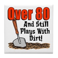 Over 80 Plays With Dirt Tile Coaster