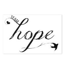 Team Hope Postcards (Package of 8)
