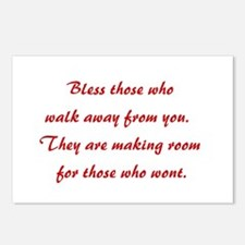 BLESS THOSE WHO... Postcards (Package of 8)
