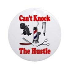 Cant Knock The Hustle Ornament (Round)