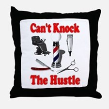 Cant Knock The Hustle Throw Pillow