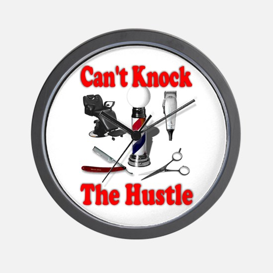 Cant Knock The Hustle Wall Clock