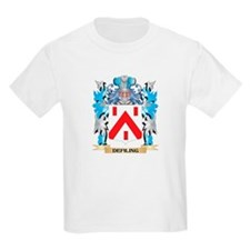 Defiling Coat of Arms - Family Crest T-Shirt