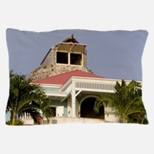 Sugar mill converted to home, St. Croi Pillow Case