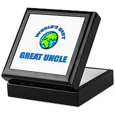 World's Best GREAT UNCLE Keepsake Box
