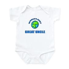 World's Best GREAT UNCLE Infant Bodysuit