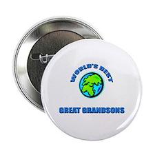 World's Best GREAT GRANDSON Button