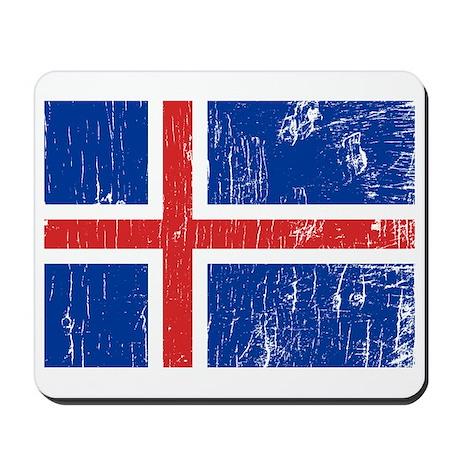 Vintage Iceland Mousepad