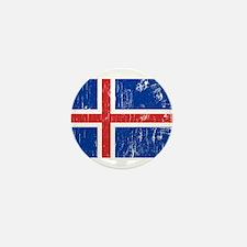 Vintage Iceland Mini Button