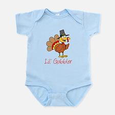 Little Gobbler Turkey Cartoon Body Suit