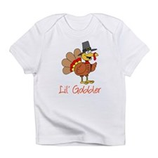 Little Gobbler Turkey Cartoon Infant T-Shirt