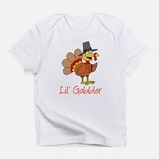 Little Gobbler Turkey Cartoon Infant T-Shirt