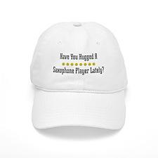 Hugged Saxophone Player Baseball Cap