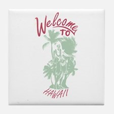 Welcome to Hawaii Tile Coaster