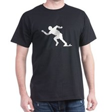 Runner On Starting Blocks T-Shirt