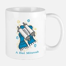 Bat Mitzvah with scroll and shawl.png Mugs