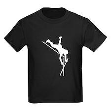 Pole Vaulter Silhouette T-Shirt
