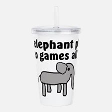 Save the Elephants Acrylic Double-wall Tumbler