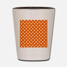 polka dots pattern Shot Glass