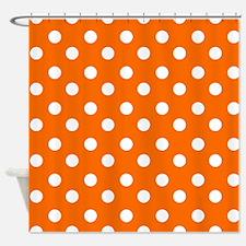 polka dots pattern Shower Curtain