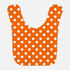polka dots pattern Bib
