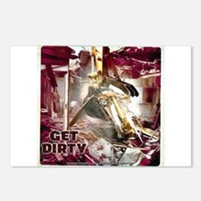 Construction Machine - Get Dirty Postcards (Packag