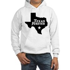 Texas Forever (White Letters) Hoodie
