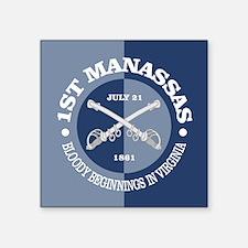 1st Manassas Sticker