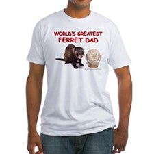 Worlds greatest ferret dad T-Shirt