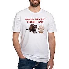 Worlds greatest ferret dad T-Shirt