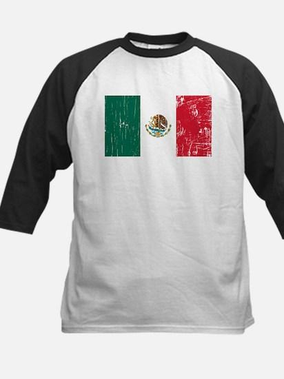 Vintage Mexico Kids Baseball Jersey