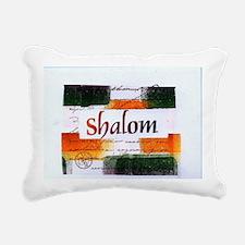 Shalom Rectangular Canvas Pillow