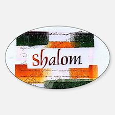 Shalom Decal