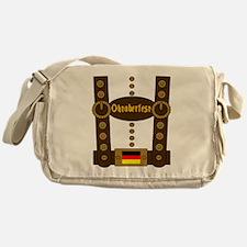Oktoberfest Lederhosen Funny Messenger Bag