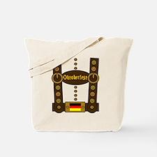 Oktoberfest Lederhosen Funny Tote Bag