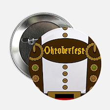 """Oktoberfest Lederhosen Fun 2.25"""" Button (100 pack)"""
