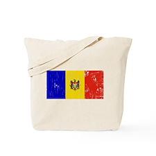 Vintage Moldova Tote Bag