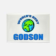 World's Best GODSON Rectangle Magnet