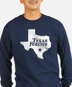 Texas Forever (White - Cutout Ltrs) T