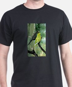 Budgie Art T-Shirt