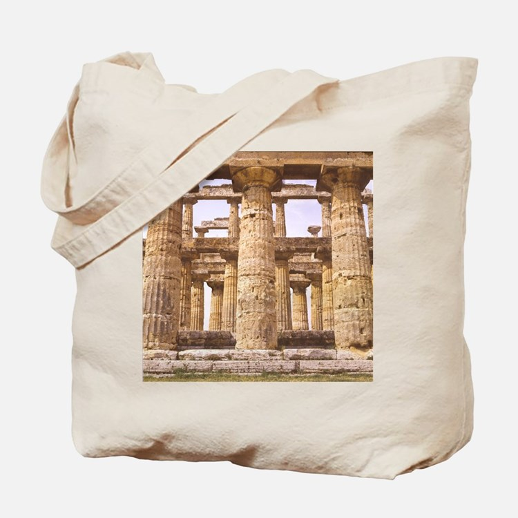 Paestum. Temple of Naptune (Hera II). Dor Tote Bag