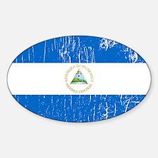 Vintage Nicaragua Oval Decal