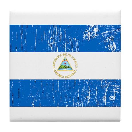 Vintage Nicaragua Tile Coaster