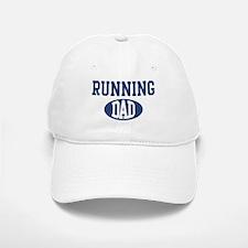 Running dad Baseball Baseball Cap