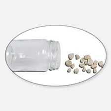Baby teeth from a jar Decal